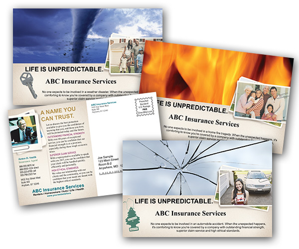 Postcard Printing - Print and Mail Insurance Postcards at ...