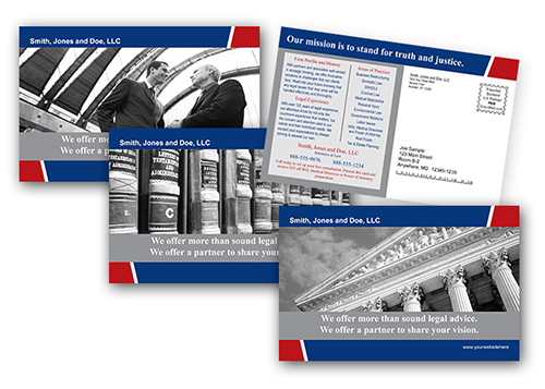 Postcard Printing - Print and Mail Legal Services Postcards at ...