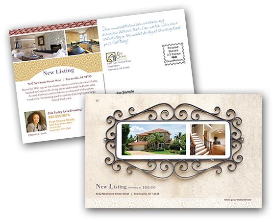 Postcard Printing Print And Mail Real Estate Postcards At - Real estate postcard templates
