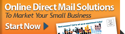 Online Direct Mail Solutions to Market Your Small Business